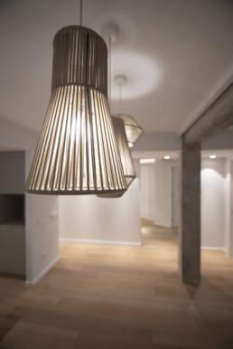 Iluminación de diseño en reforma de Ruzafa